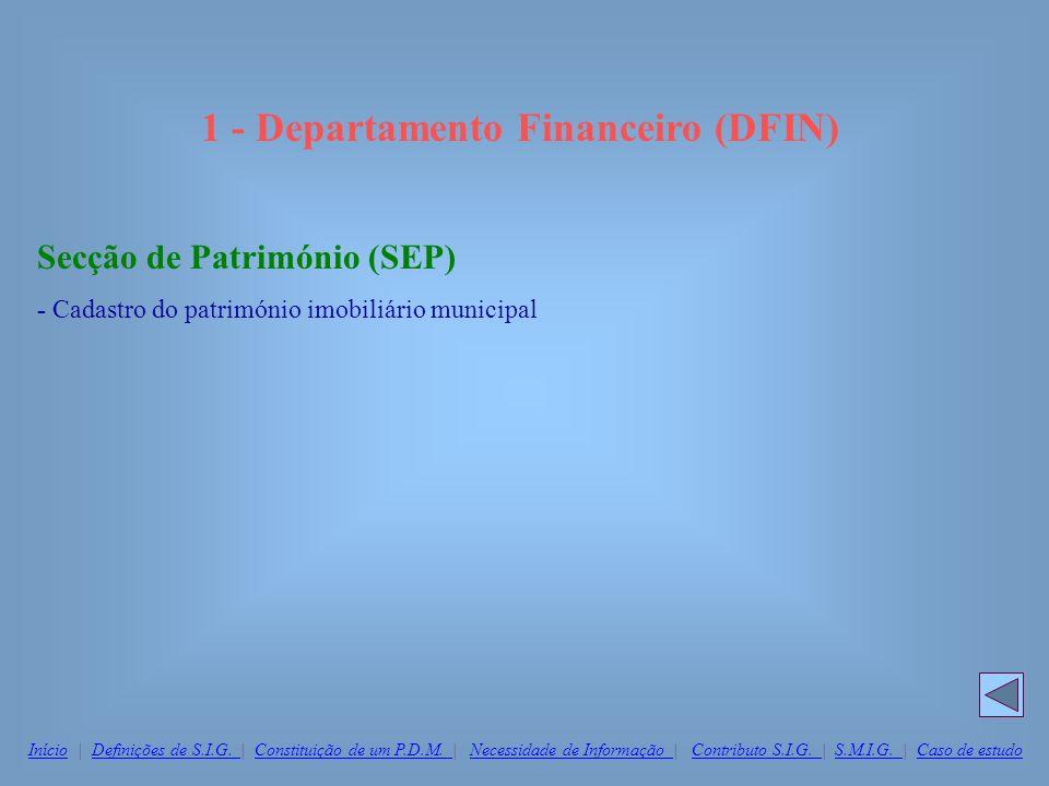1 - Departamento Financeiro (DFIN)