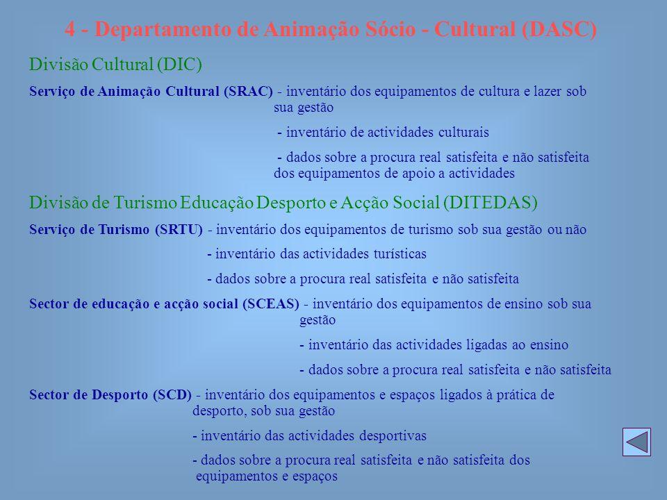 4 - Departamento de Animação Sócio - Cultural (DASC)