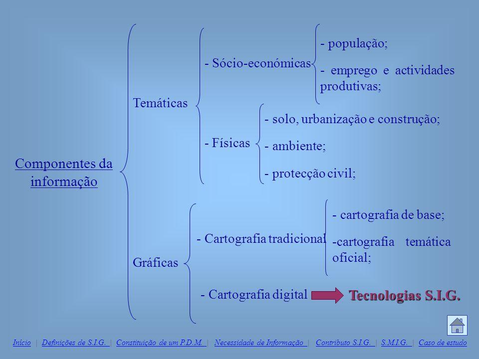 Componentes da informação