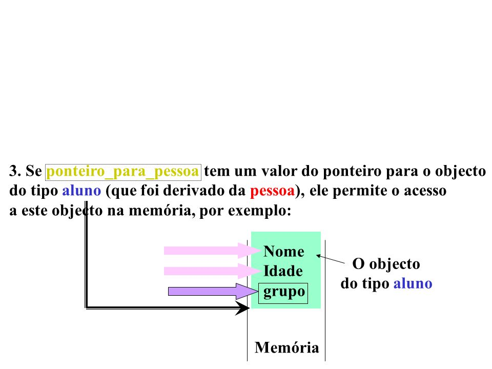 3. Se ponteiro_para_pessoa tem um valor do ponteiro para o objecto