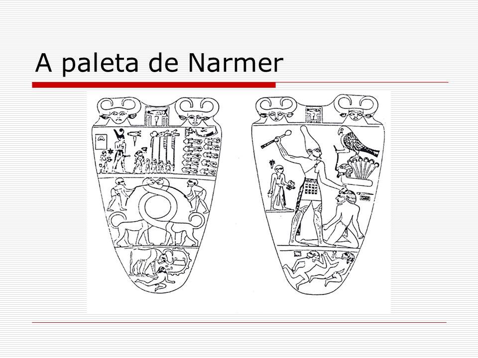 A paleta de Narmer