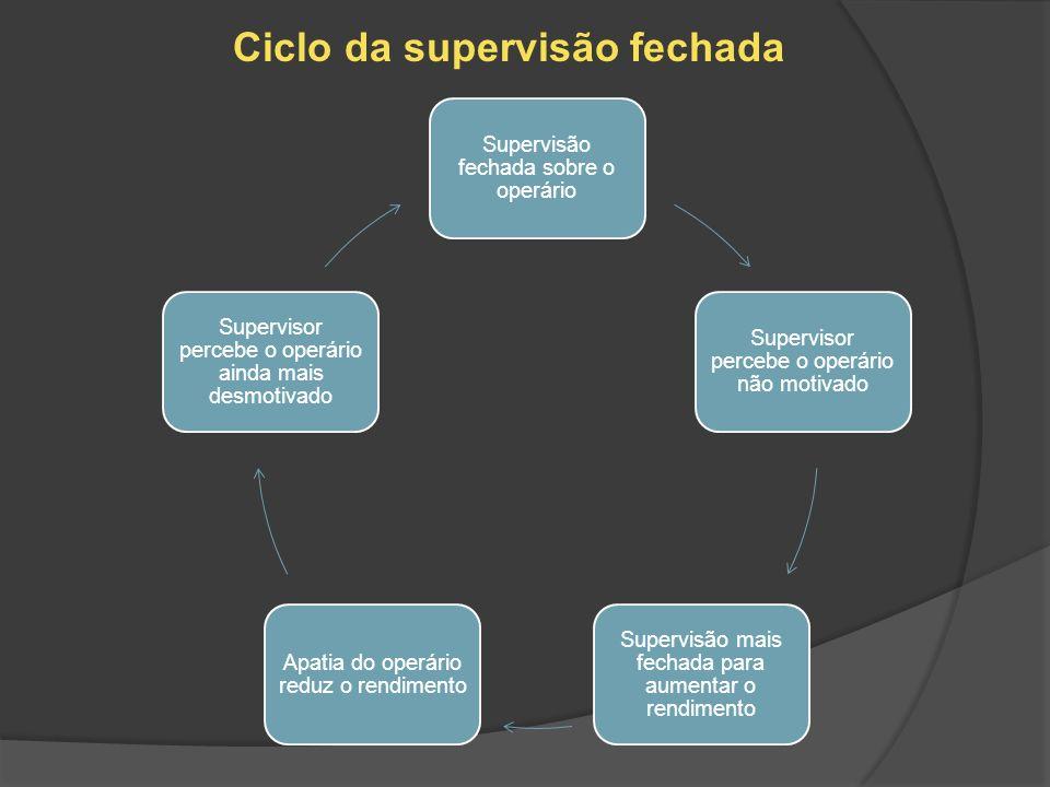Ciclo da supervisão fechada