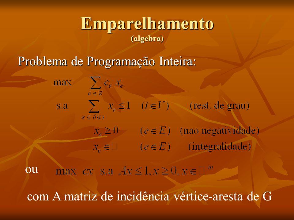 Emparelhamento (algebra)