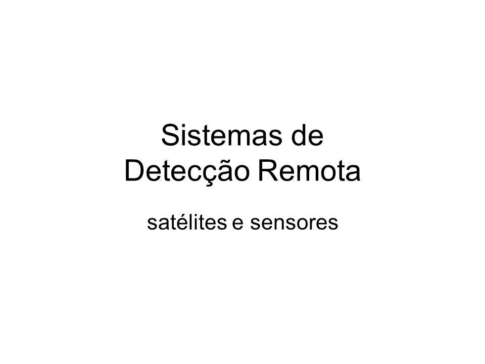 Sistemas de Detecção Remota