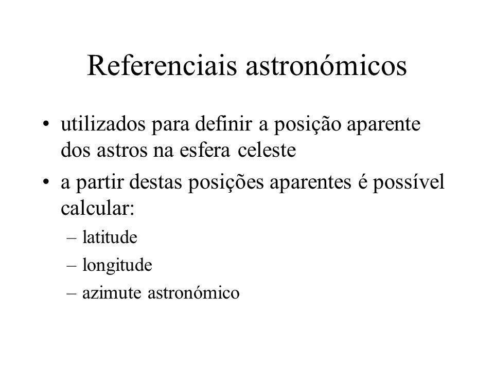 Referenciais astronómicos