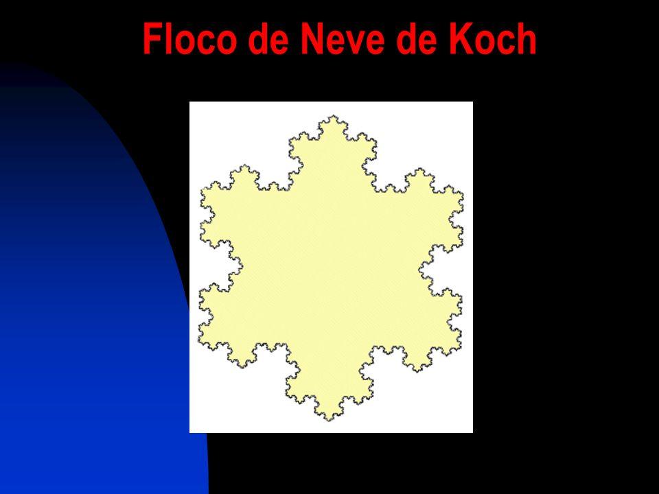 Floco de Neve de Koch