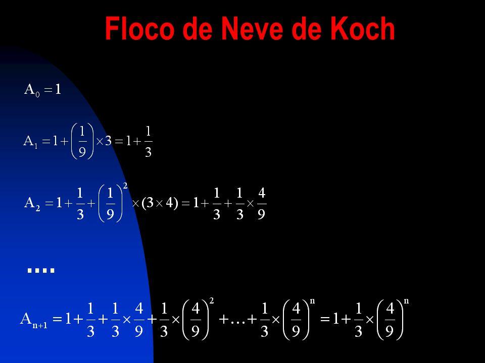 Floco de Neve de Koch ....
