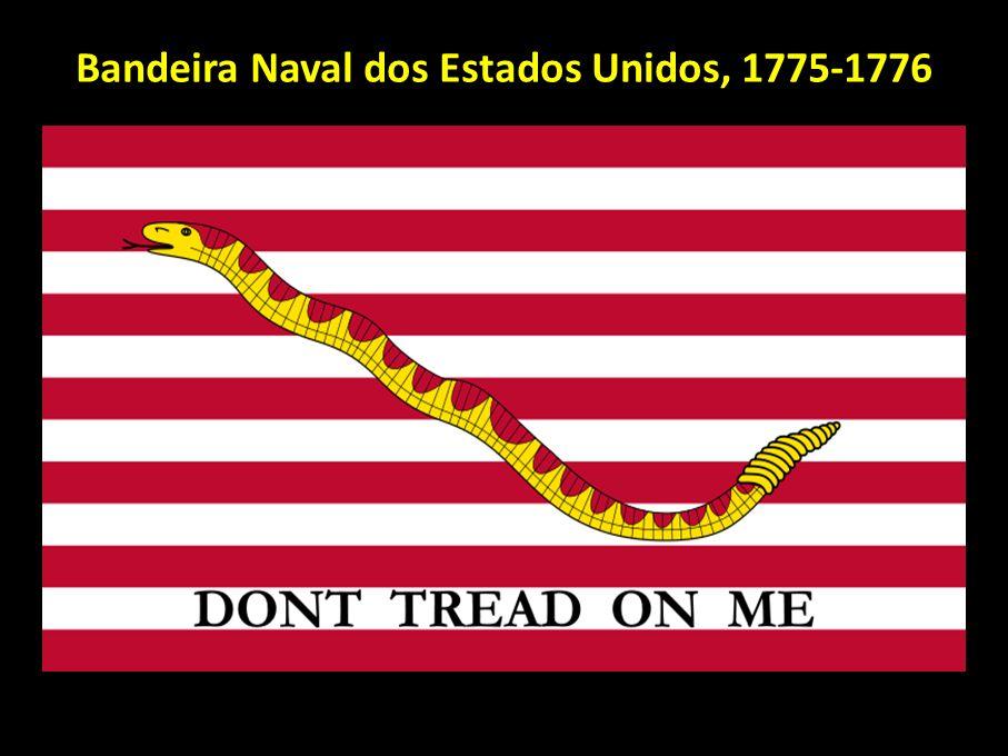 Bandeira Naval dos Estados Unidos, 1775-1776