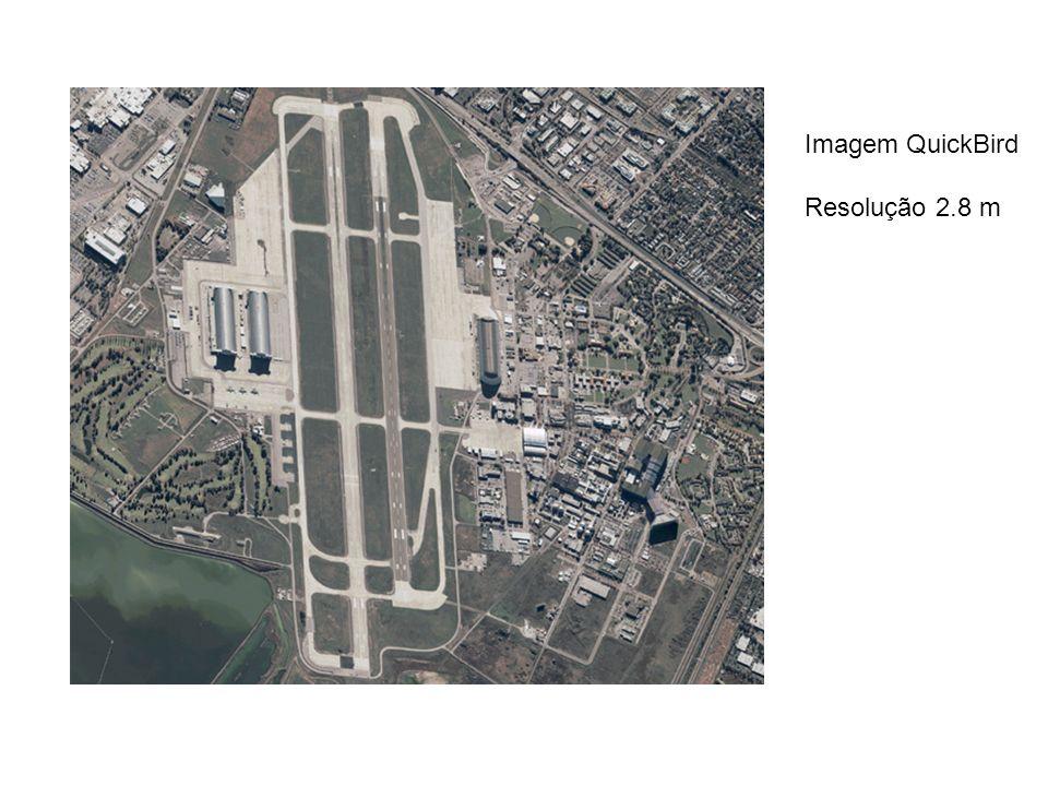 Imagem QuickBird Resolução 2.8 m