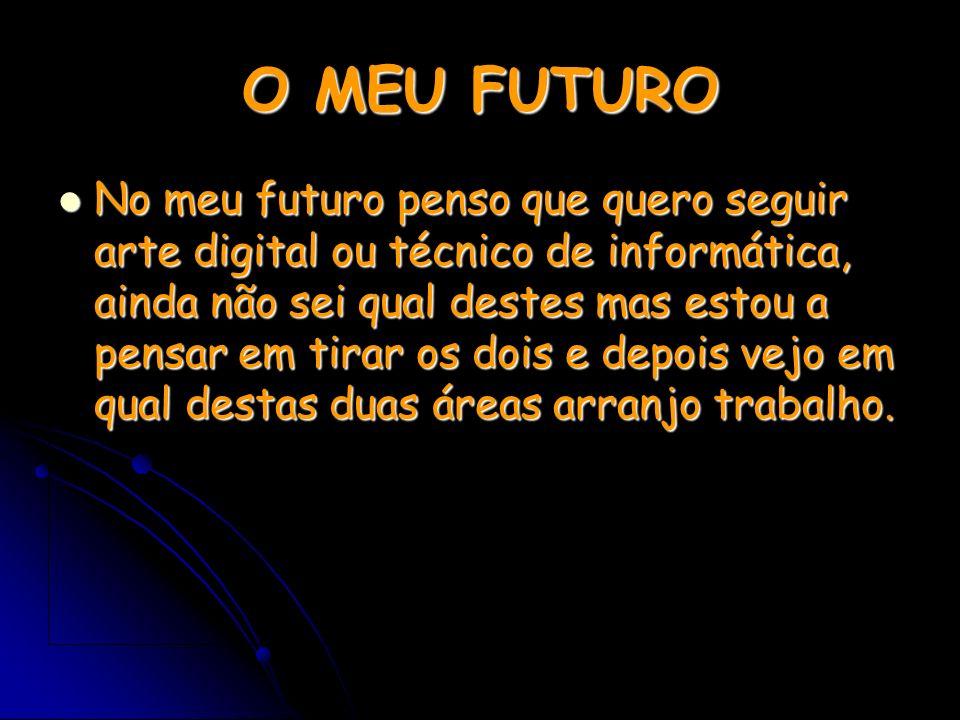 O MEU FUTURO