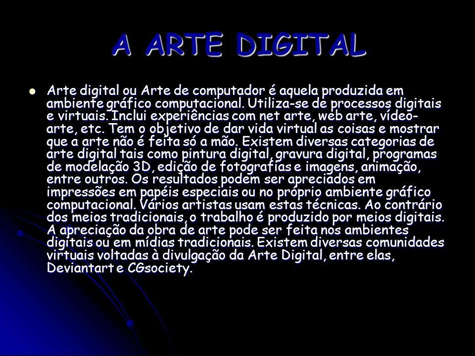 A ARTE DIGITAL