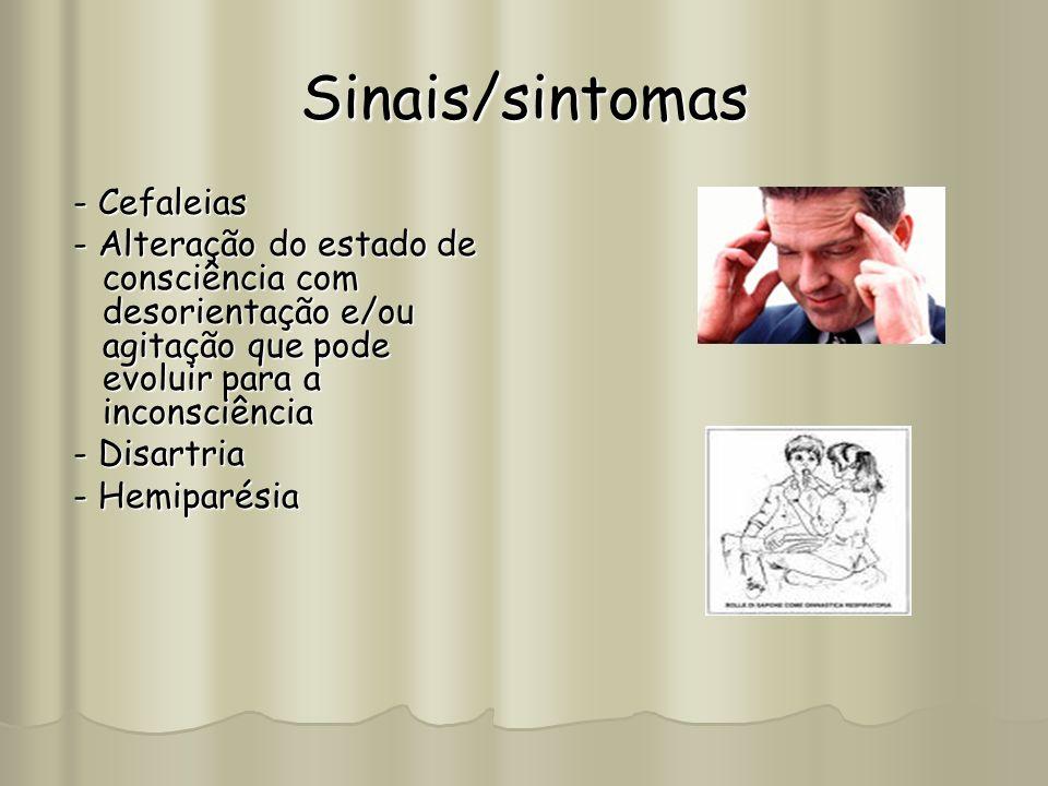 Sinais/sintomas - Cefaleias