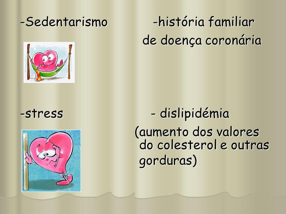 -Sedentarismo -história familiar