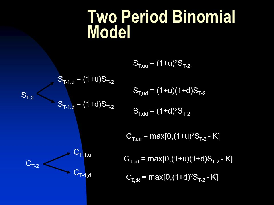 Two Period Binomial Model