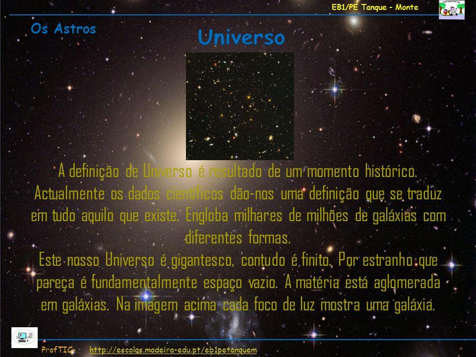 EB1/PE Tanque - Monte Os Astros. Universo.