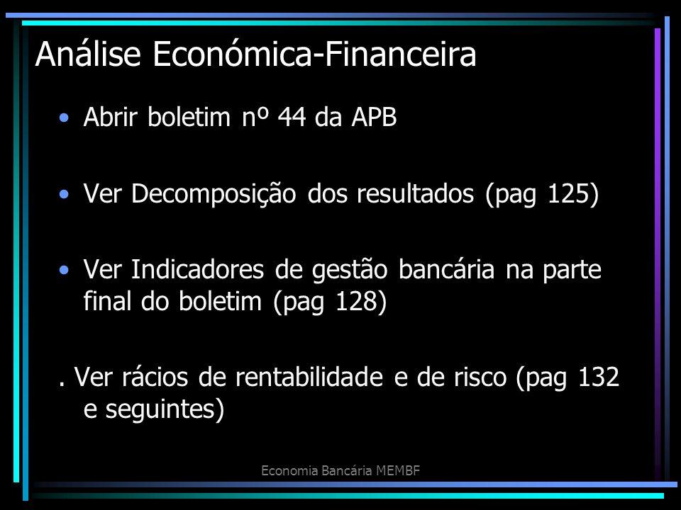Análise Económica-Financeira