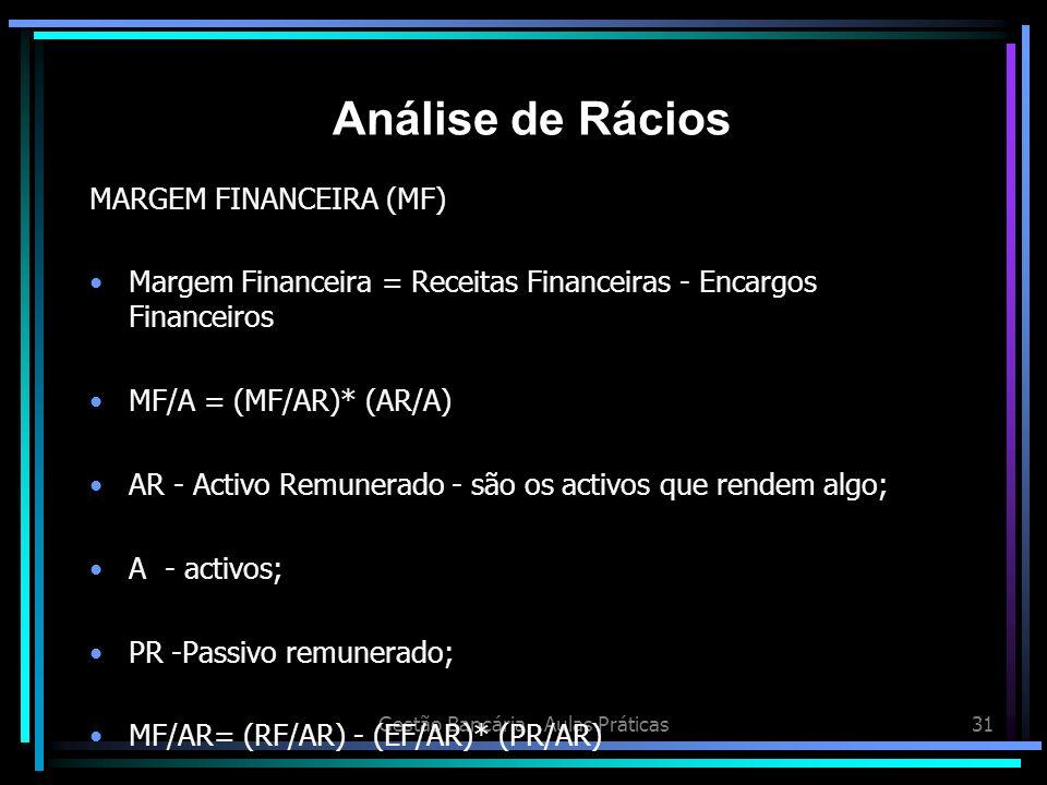 Gestão Bancária - Aulas Práticas
