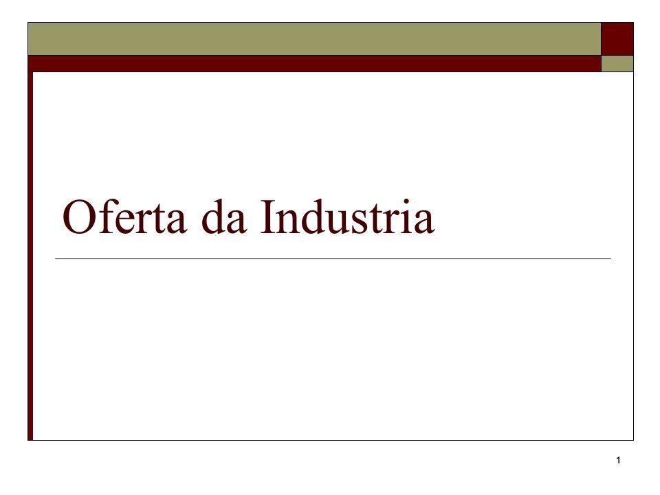 Oferta da Industria