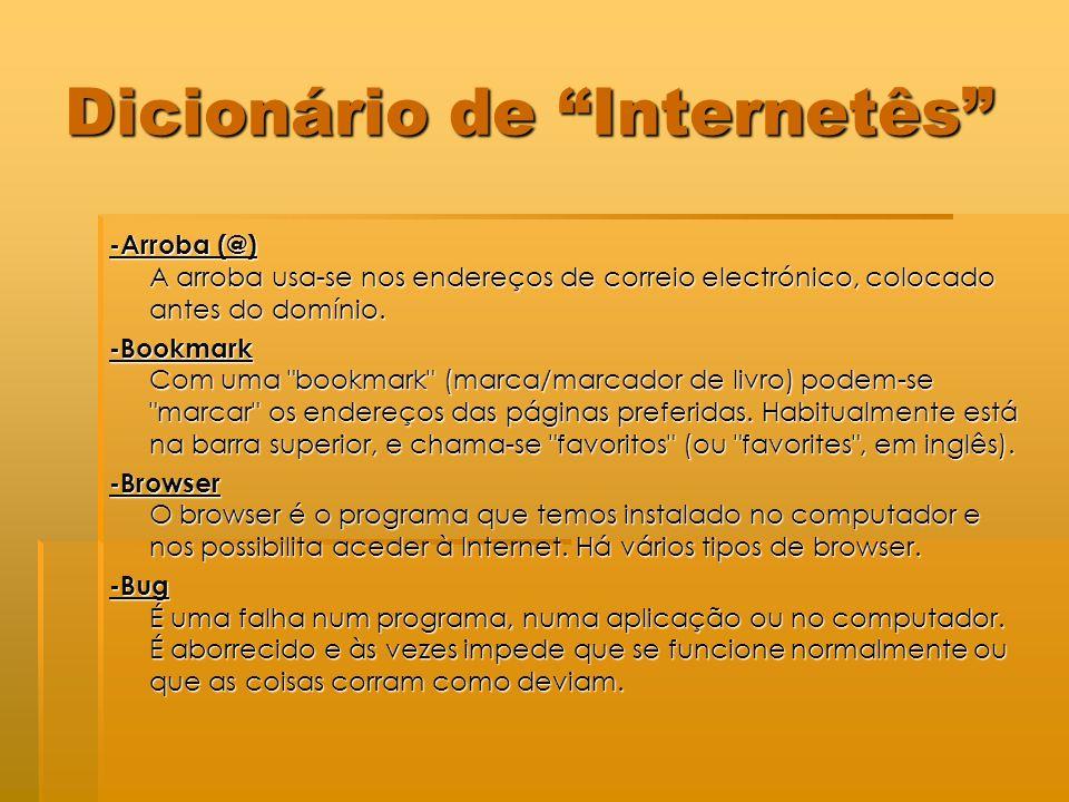 Dicionário de Internetês