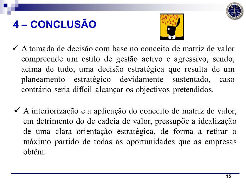 4 – CONCLUSÃO