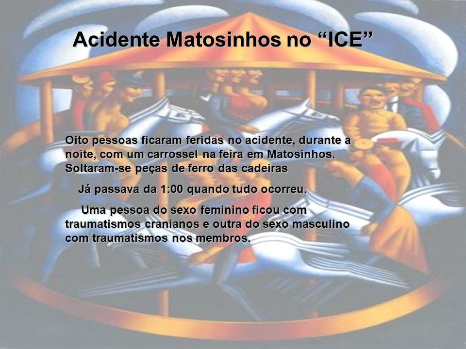 Acidente Matosinhos no ICE