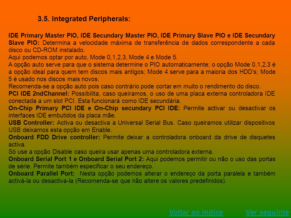 3.5. Integrated Peripherals: