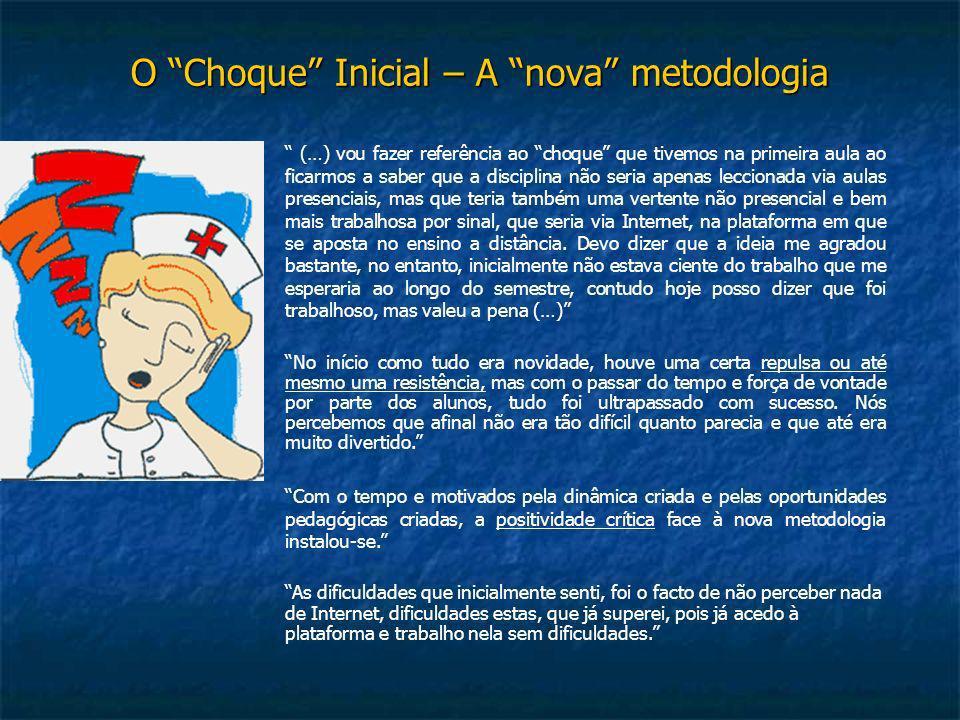 O Choque Inicial – A nova metodologia