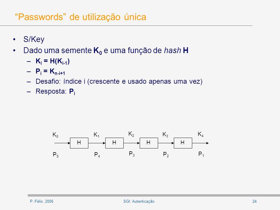 Passwords de utilização única