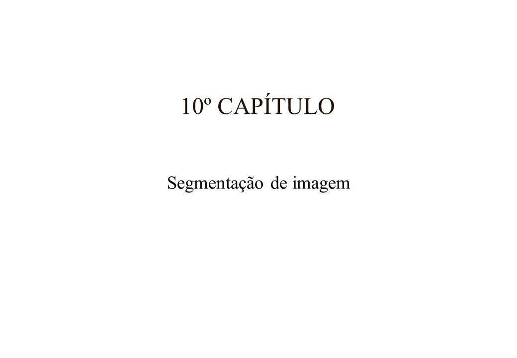 10º CAPÍTULO Segmentação de imagem