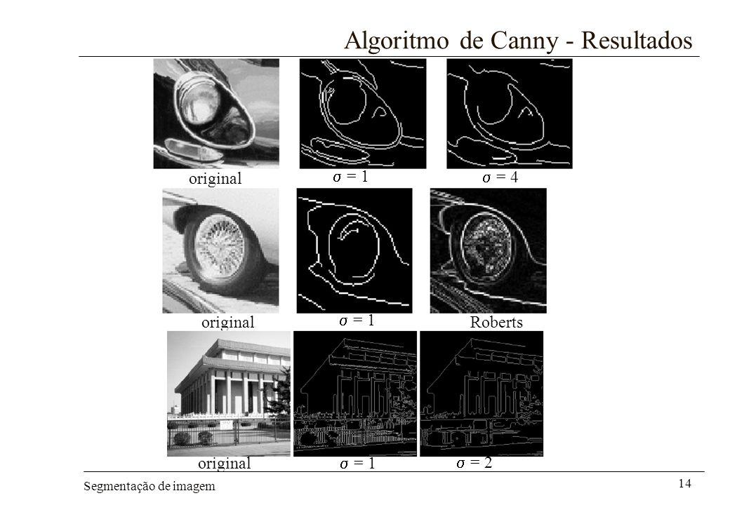 Algoritmo de Canny - Resultados