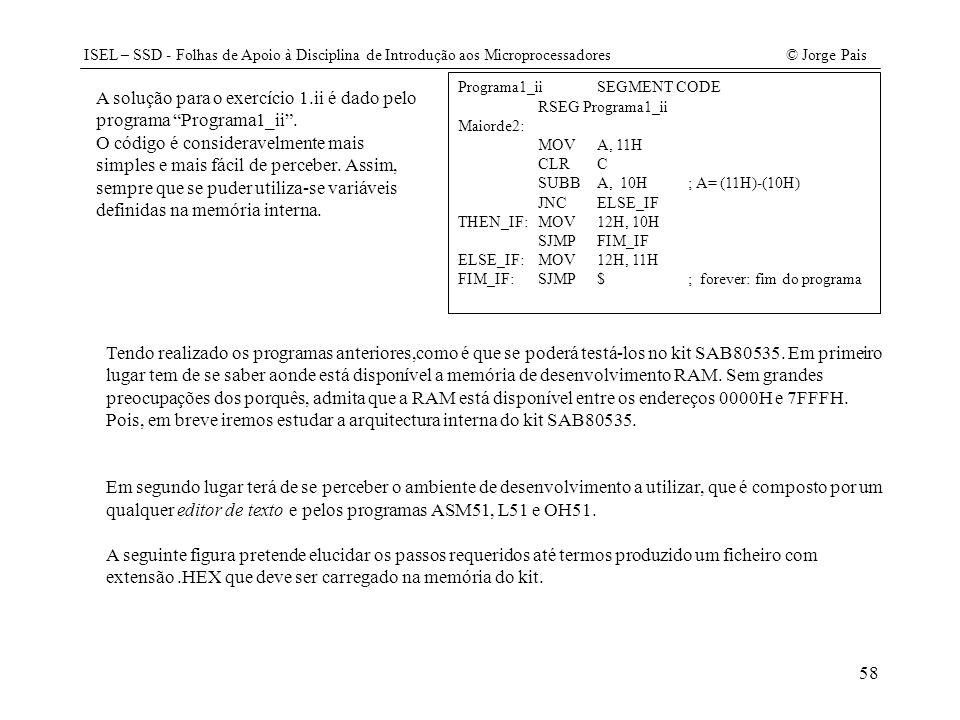 A solução para o exercício 1.ii é dado pelo programa Programa1_ii .