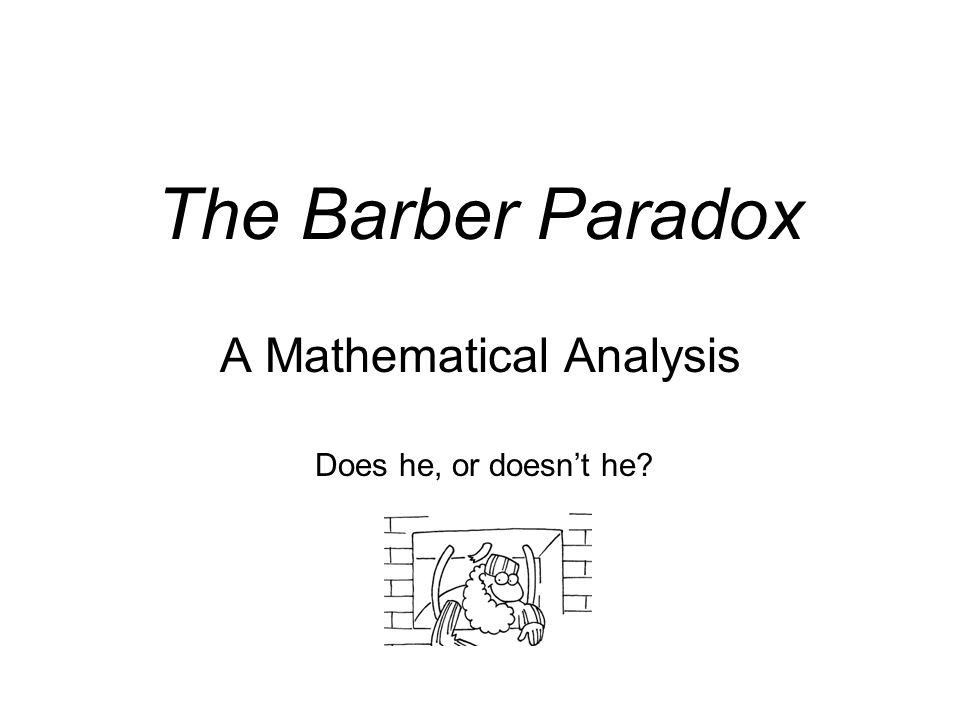 A Mathematical Analysis
