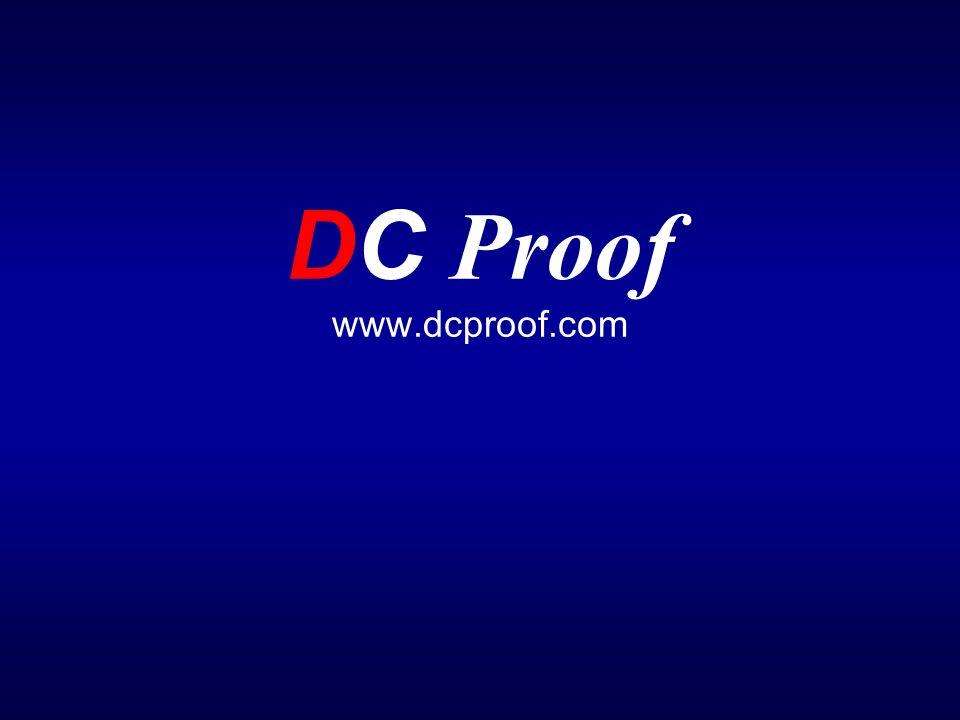 DC Proof www.dcproof.com