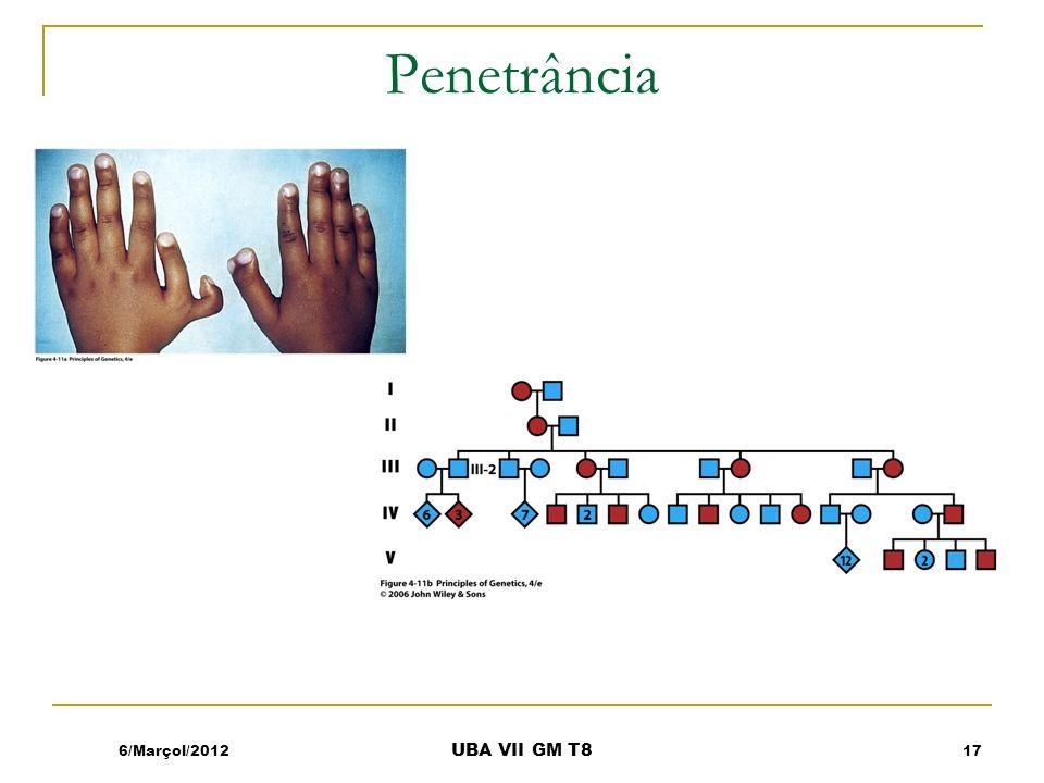 Penetrância 6/Marçol/2012 UBA VII GM T8