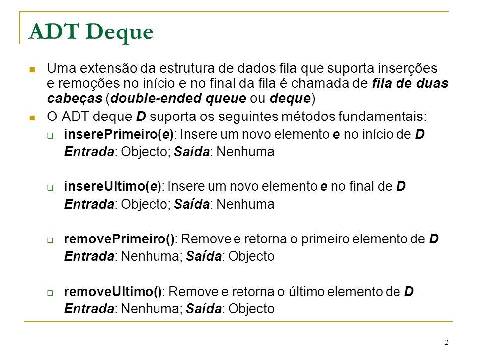 ADT Deque