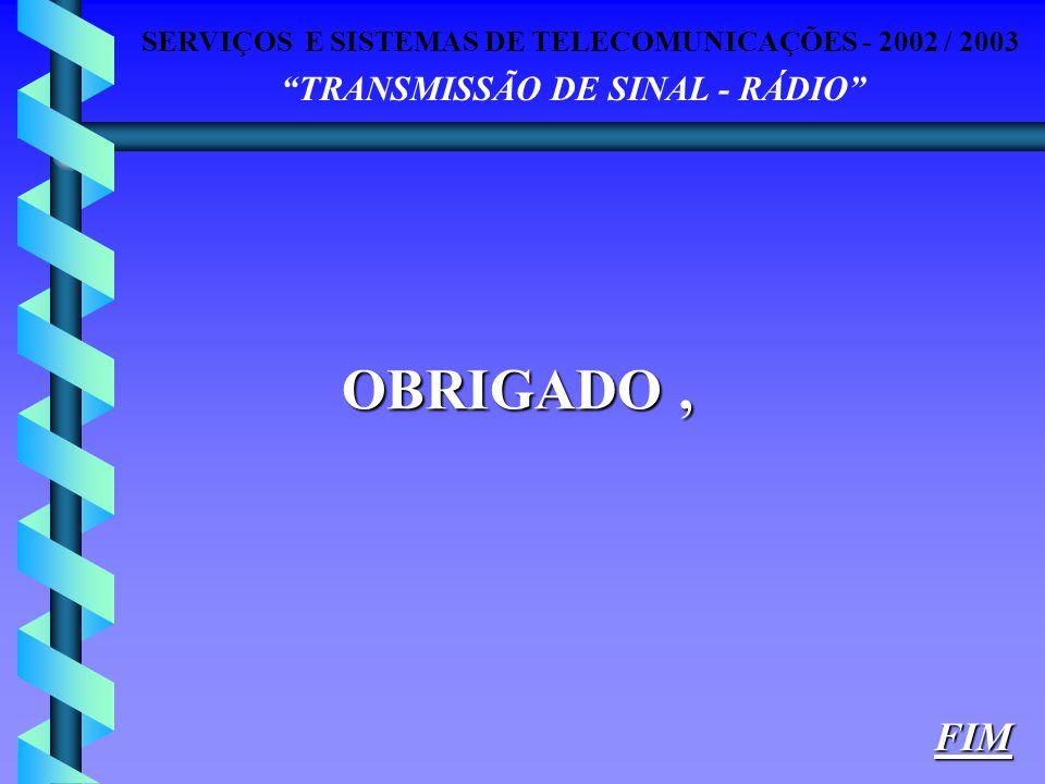 OBRIGADO , FIM