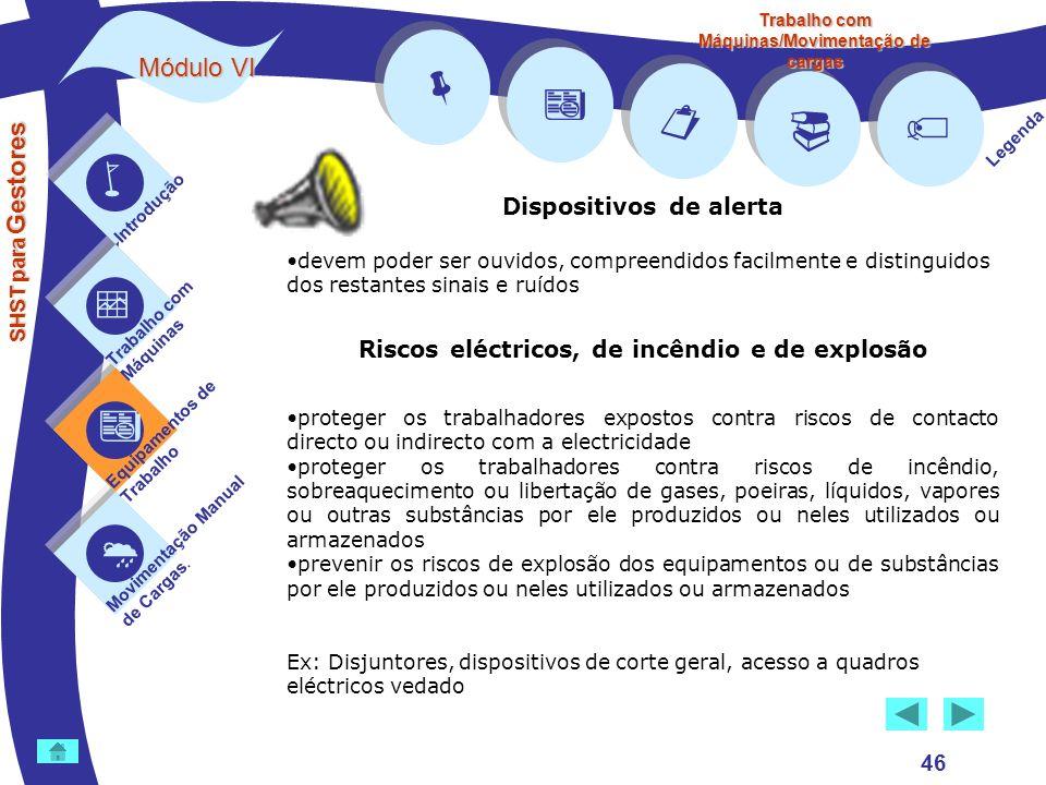         Módulo VI Dispositivos de alerta