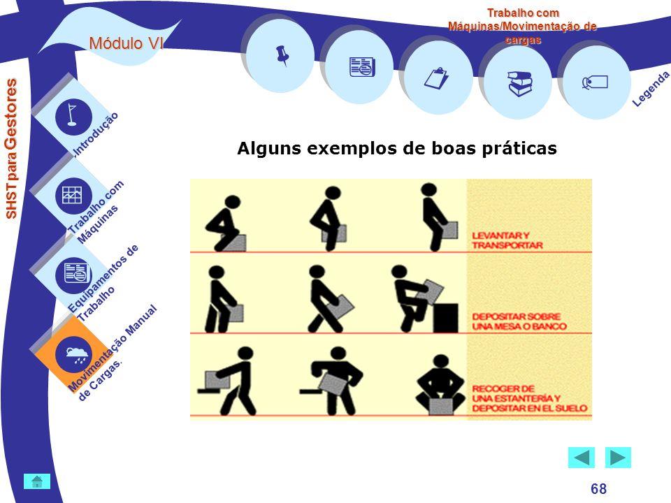         Módulo VI Alguns exemplos de boas práticas 68 