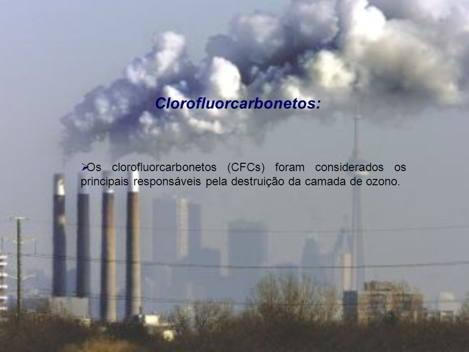 Clorofluorcarbonetos: