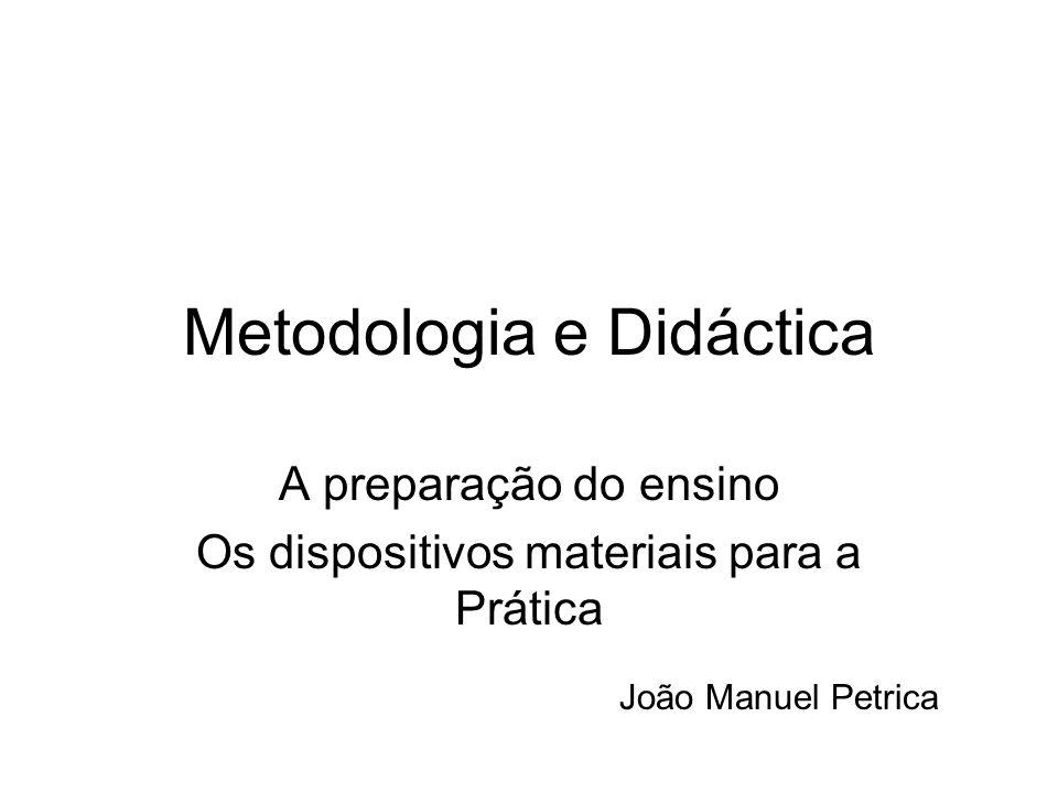 Metodologia e Didáctica