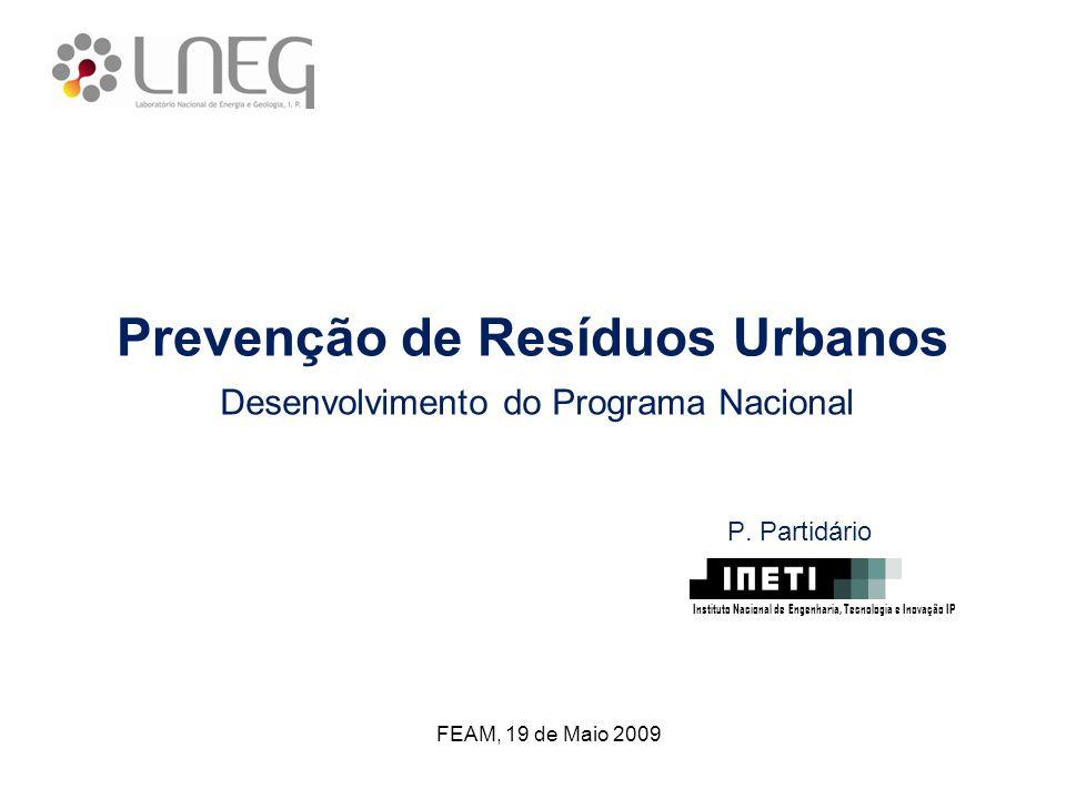 Prevenção de Resíduos Urbanos