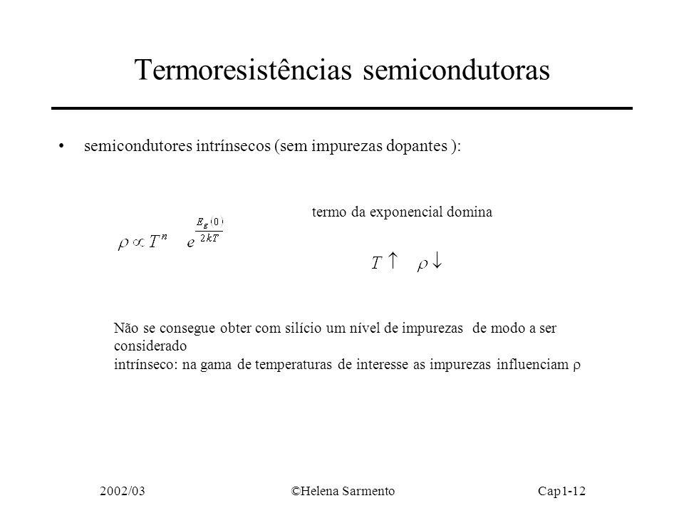 Termoresistências semicondutoras