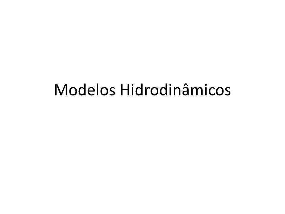 Modelos Hidrodinâmicos