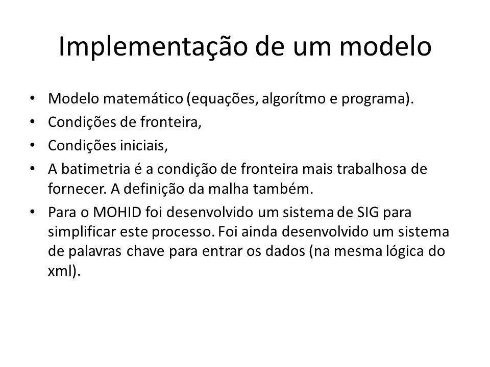 Implementação de um modelo