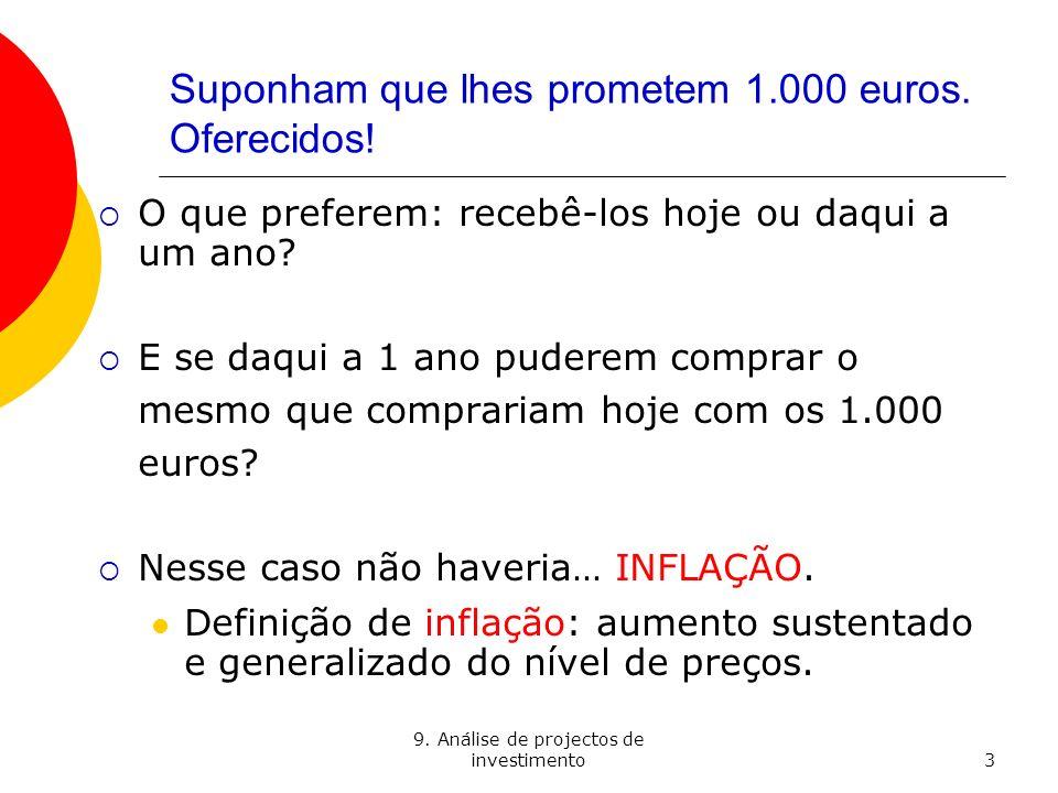Suponham que lhes prometem 1.000 euros. Oferecidos!
