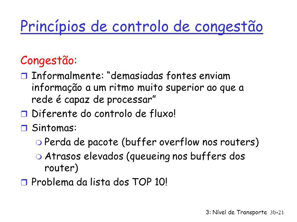 Princípios de controlo de congestão