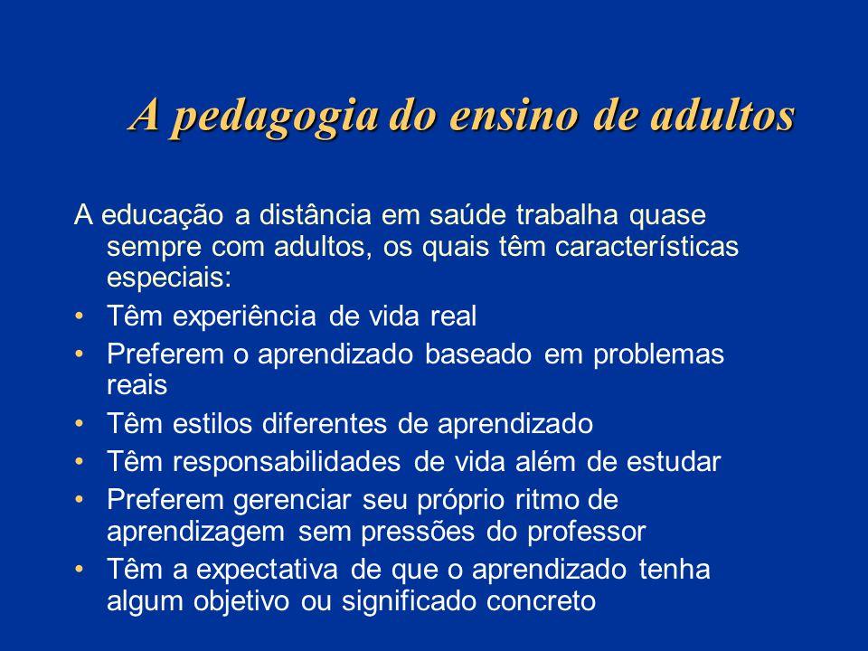 A pedagogia do ensino de adultos