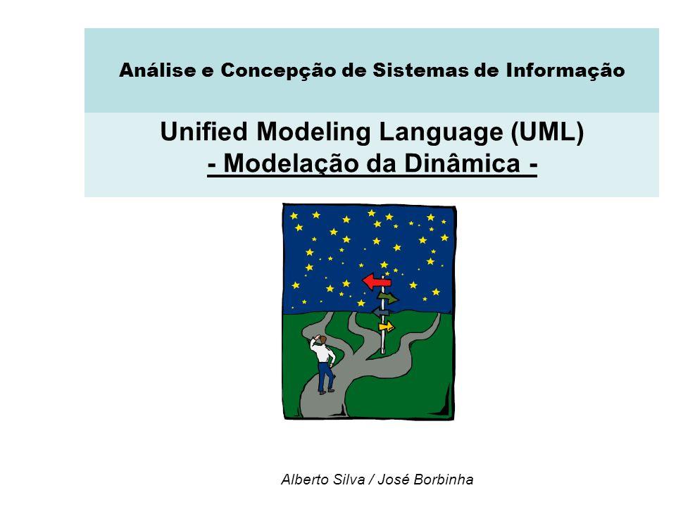 Unified Modeling Language (UML) - Modelação da Dinâmica -