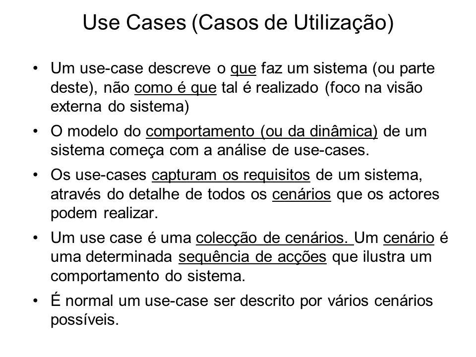 Use Cases (Casos de Utilização)