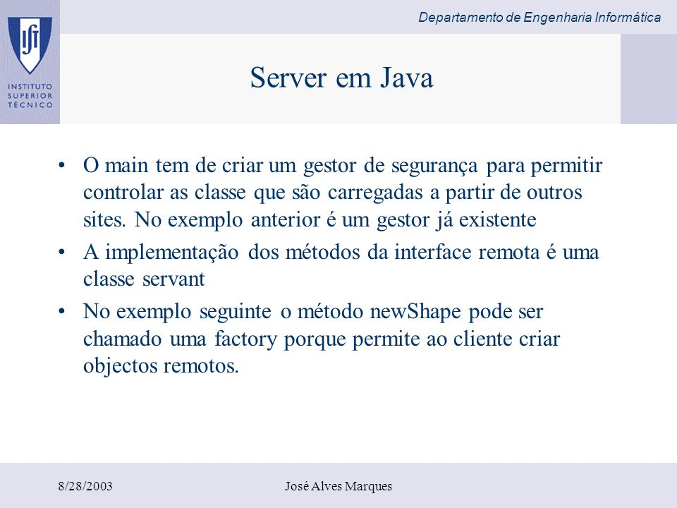 Server em Java